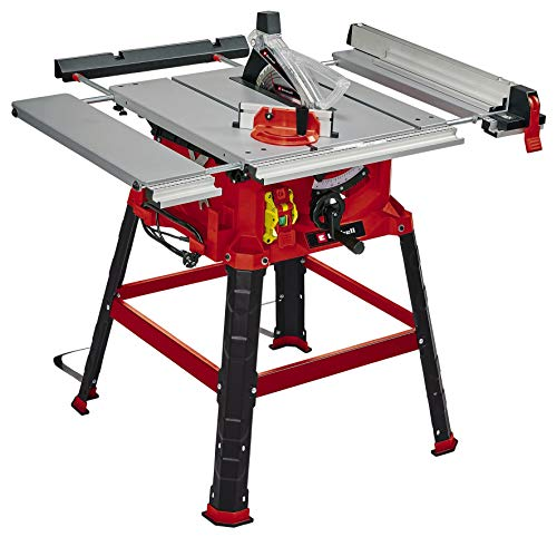 Einhell Tischkreissäge TC-TS 2225 U (max. 2200 W, Ø254 x ø30 mm Sägeblatt, Parallel-/Winkelanschlag, Softstart, neigbares Sägeblatt, Höhenverstellung bis 80 mm)