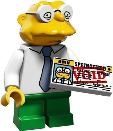 Lego - Simpsons Serie 2 Suchen Sie Ihre Figur Aus 71009 - Hans Moleman