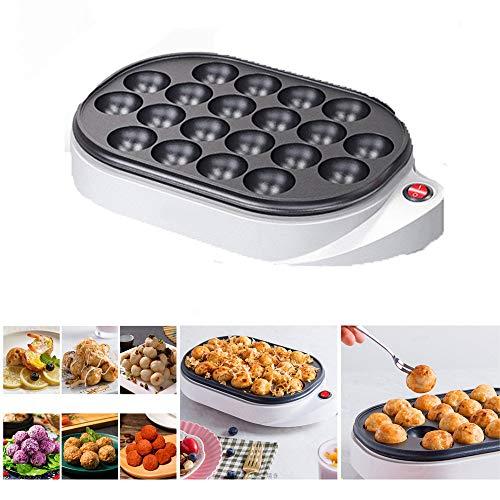 Elektrischer Takoyaki Maker kostenlosen Takoyaki-Spießchen - Unkompliziert zu bedienende elektrische Maschine zur Herstellung japanischer Takoyaki Octopus Bällchen, 220V Wechselstrom, 50/60 Hz, 650W