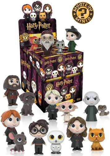 Funko - Harry Potter Mystery Mini Blindbox Serie 2 - 1 zufällige Figur