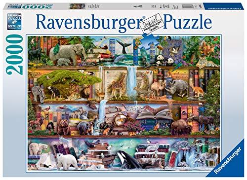Ravensburger Puzzle 16652 - Aimee Stewart: Großartige Tierwelt - 2000 Teile Puzzle für Erwachsene und Kinder ab 14 Jahren, Motiv von Aimee Stewart