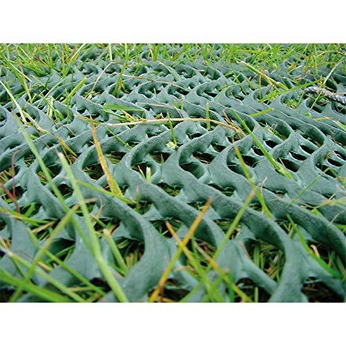 NOOR Premium Rasenschutzgitter 60 x 80cm im grün I Rasenschutz für Autoreifen I Ideales Schutzgitter auf Campingplätzen