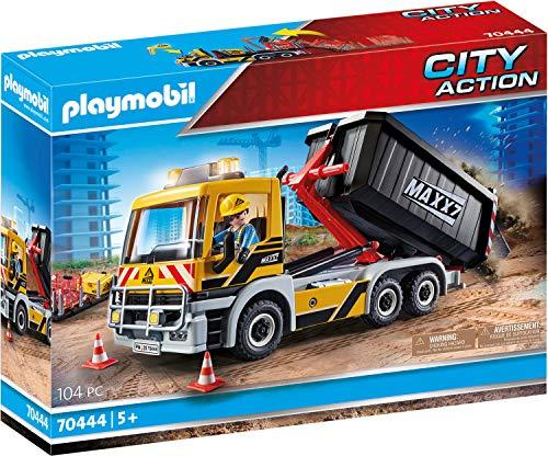 PLAYMOBIL City Action 70444 LKW mit Wechselaufbau, Ab 5 Jahren