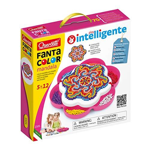 Quercetti - Fantacolor Mandala - Steckspiel