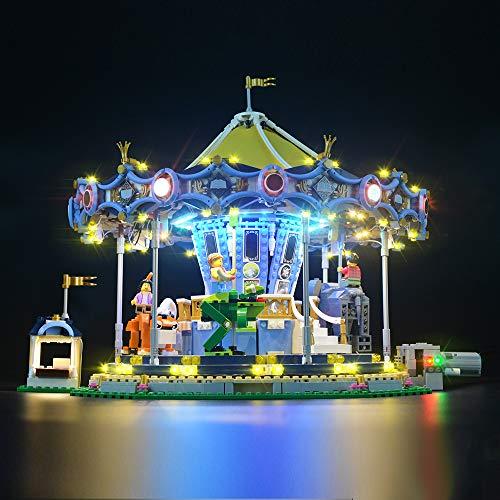 LIGHTAILING Licht-Set Für (Creator Expert Karussell) Modell - LED Licht-Set Kompatibel Mit Lego 10257(Modell Nicht Enthalten)