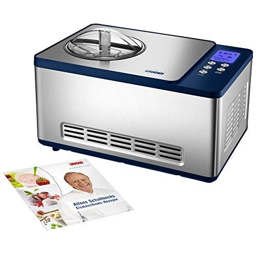 UNOLD Eismaschine Schuhbeck exklusiv, mit Kompressor, 1,5 Liter Eiscreme, 48818