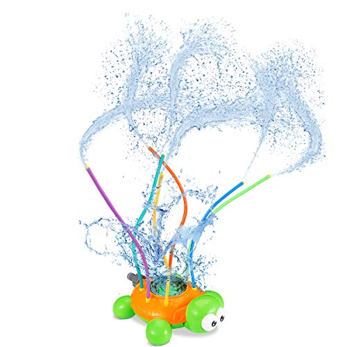 Toyvian Sprinkler für Kinder, Turtle Pool Toy Sprinkler Wasser, Wasser wackelt Toy Swimmingpool Garden Lawn Outdoor Play