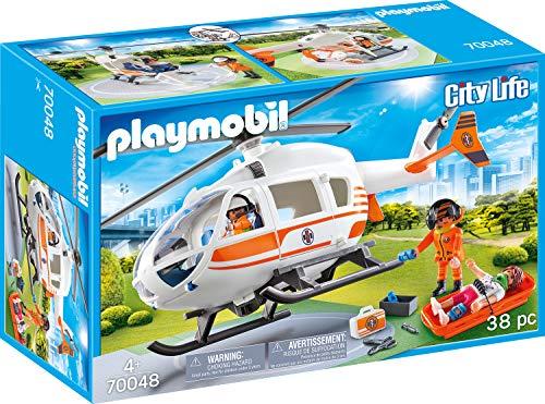 Playmobil City Life 70048 Rettungshelikopter, Ab 4 Jahren