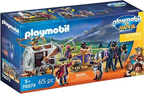 PLAYMOBIL:THE MOVIE 70073 Charlie mit Gefängniswagen, Ab 5 Jahren