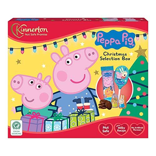 Peppa Pig Weihnachtsbox 2020 Peppa Wutz Schokolade ohne Nüsse