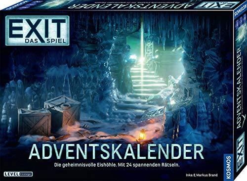 KOSMOS 693206 EXIT - Das Spiel - Adventskalender: Die geheimnisvolle Eishöhle, mit 24 spannenden Rätseln ab 10 Jahre, Escape Room Spiel vor Weihnachten, für Kinder Jugendliche und Erwachsene