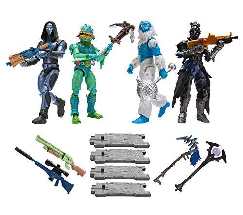 FORTNITE FNT0109 Squad Modus 4-er Figuren Set Serie 2, mehrere Farben
