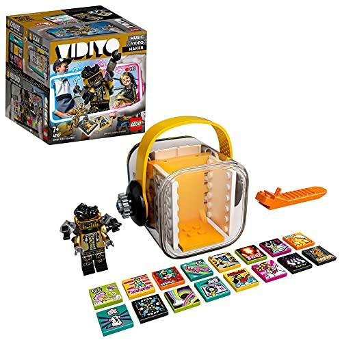 LEGO 43107 VIDIYO Hiphop Robot Beatbox Music Video Maker Musik Spielzeug für Kinder, AR App Set mit Roboter Minifigur