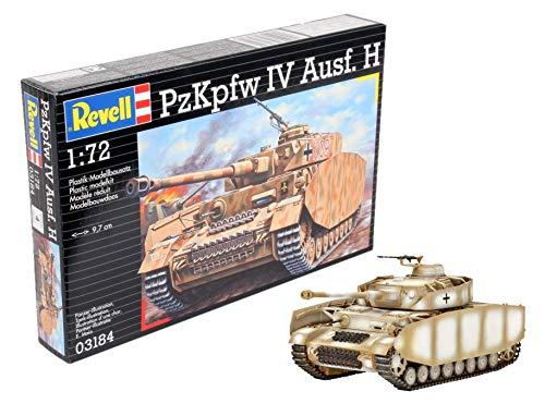 Revell Modellbausatz Panzer 1:72 - PzKpfw. IV Ausf.H im Maßstab 1:72, Level 4, originalgetreue Nachbildung mit vielen Details, 03184