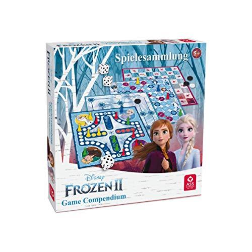 ASS 22501551 Die Eiskönigin 2 Spielesammlung von ASS Altenburger, mit tollen Brettspielen zum neuen Film für Kinder und alle Eiskönigin Fans ab 5 Jahren