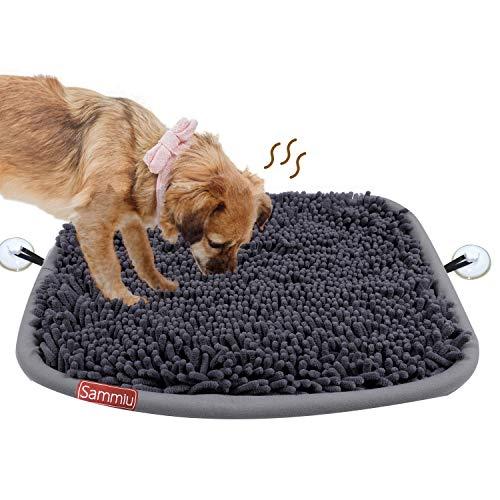 Schnüffelteppich Hunde intelligenzspielzeug Schnüffelteppich Riechen Trainieren Schnüffeldecke Schnüffelspielzeug Intelligenz Hundespielzeug Futtermatte Trainingsmatte für Haustier Hunde Katzen