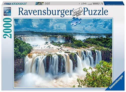 Ravensburger Puzzle 16607 - Wasserfälle von Iguazu, Brasilien - 2000 Teile Puzzle für Erwachsene und Kinder ab 14 Jahren, Landschaftspuzzle mit Wasserfall
