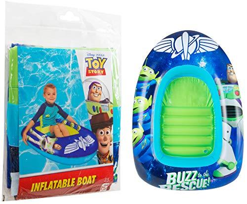 Sambro Outdoor Swimming Toy Story Lightyear Aufblasbares Kinderpool mit Raumschiff-Design, für Pool/Boot, Liege, Mit Woody, Buzz Jessie