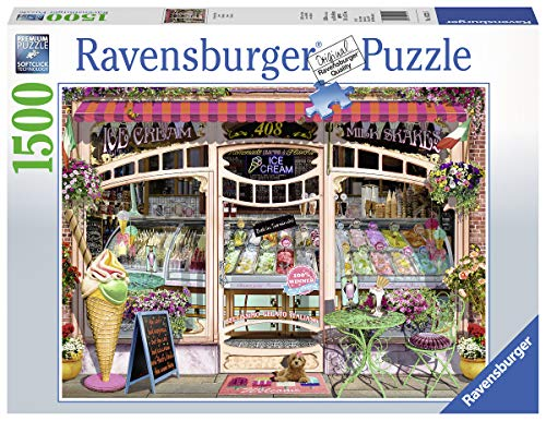 Ravensburger Puzzle 16221 - Ice Cream Shop - 1500 Teile