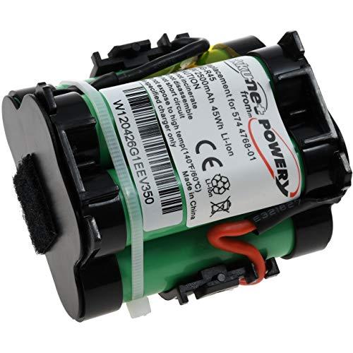 akku-net Powerakku für Mähroboter Gardena R70Li, 18V, Li-Ion
