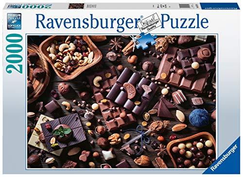 Ravensburger Puzzle 16715 - Schokoladenparadies - 2000 Teile Puzzle für Erwachsene und Kinder ab 14 Jahren, Puzzle-Motiv mit Süßigkeiten