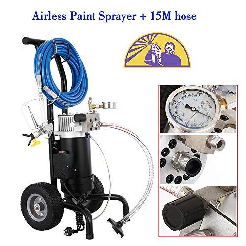 Airless Farbsprühgerät 1.9L / min Paint Sprayer 900W Sprühpistole Spritzpistole Spritzgerät 1.2PS Airlessgerät Farbspritzgerät Spritzgerät Spray Gun