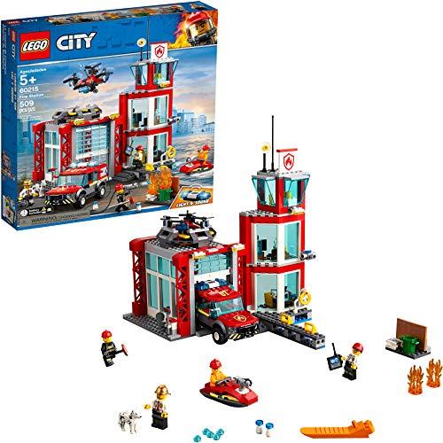 LEGO City Feuerwehrstation 60215 (509 Teile) mit Licht & Sound - 2019