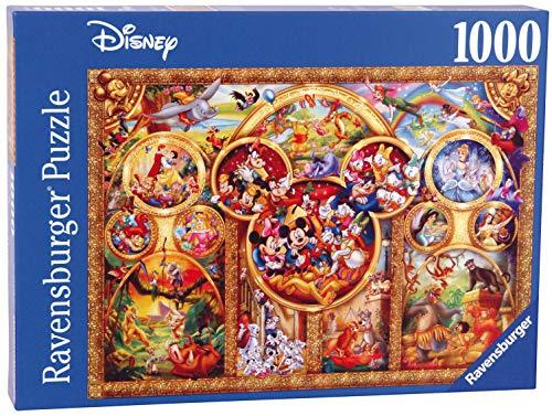 Ravensburger Puzzle 1000 Teile Die Schönsten Disney Themen, Disney Puzzle Für Erwachsene Und Kinder Ab 14 Jahren