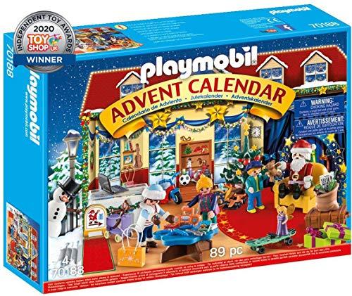 PLAYMOBIL Adventskalender 70188 Weihnachten im Spielwarengeschäft, Ab 4 Jahren