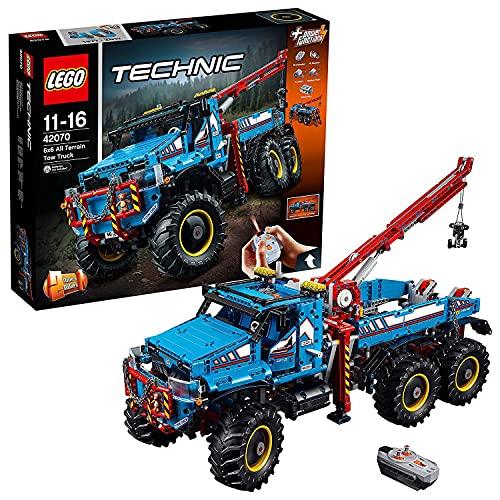 LEGO 42070 Technic Allrad-Abschleppwagen