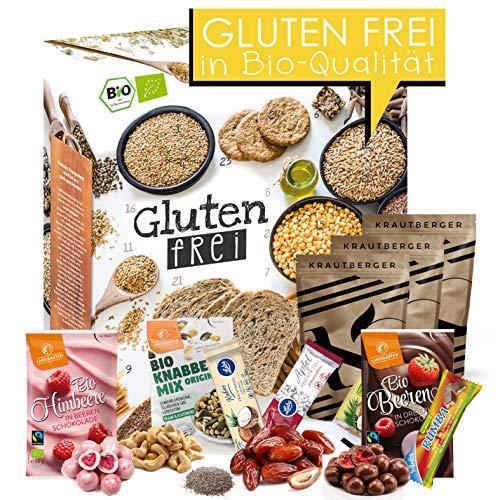 Glutenfreier Adventskalender I Kalender für die glutenfreie Ernährung I Ohne Weizen durch die Adventszeit I weizenfrei I gesunder Adventskalender I no gluten I glutenfreie Lebensmittel