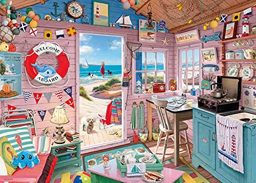 Ravensburger 15000 My Haven No. 7. The Beach Hut Puzzle für Erwachsene und Kinder, ab 12 Jahren, 1000 Teile