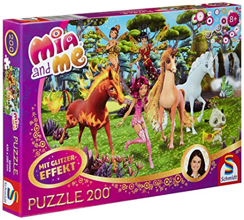 Mia and Me: In Centopia. Glitzerpuzzle