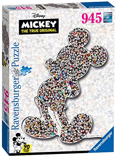 Ravensburger Puzzle 16099 - Shaped Mickey - 945 Teile