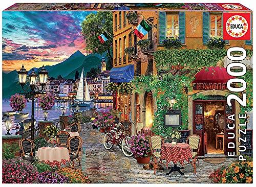 Educa Borras Educa 18009, Italianita, 2000 Teile Puzzle für Erwachsene und Kinder ab 12 Jahren, Italien, Italienischer Charme, Abwechslungsreich, Sin talla