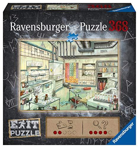Ravensburger EXIT Puzzle Kids 16783 - Das Labor - 368 Teile Puzzle für Kinder ab 9 Jahren