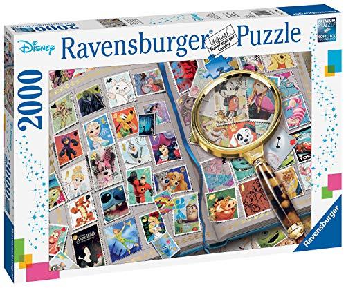 Ravensburger Puzzle 16706 - Meine liebsten Briefmarken - 2000 Teile