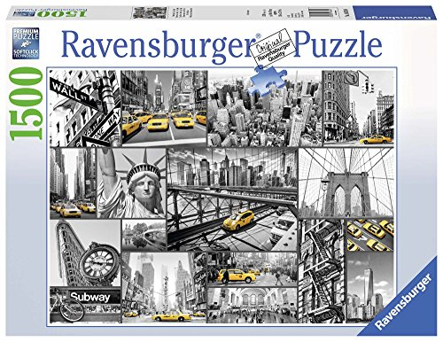 Ravensburger Puzzle 16354 - Farbtupfer in New York - 1500 Teile