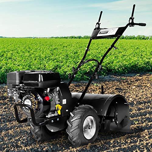 BRAST Benzin Gartenfräse 5,15kW(7,0PS) Radantrieb 50cm Fräsbreite 212ccm TÜV geprüft Motorhacke Ackerfräse Bodenfräse