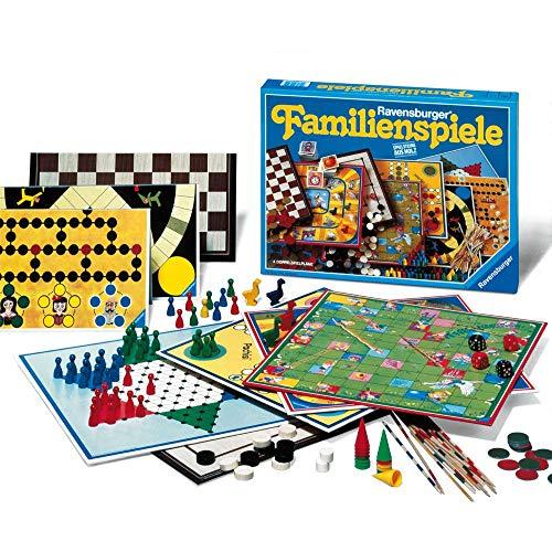Ravensburger 01315 - Ravensburger Familienspiele - Spielesammlung für die ganze Familie, Spiel für Kinder und Erwachsene ab 4 Jahren, für 2-10 Spieler