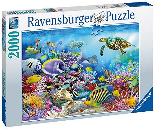 Ravensburger Puzzle 16704 - Lebendige Unterwasserwelt - 2000 Teile