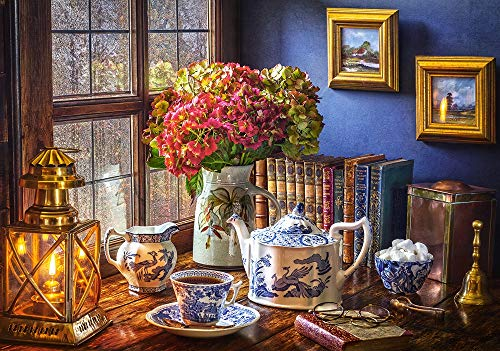 Castorland CSB53070 Tea Time, 500 Teile Puzzle, Bunt