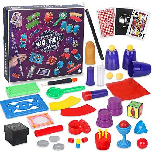 Vanplay Zauberkasten Einschließen über 75 Wunderbar Zaubertricks für Kinder ab 6+
