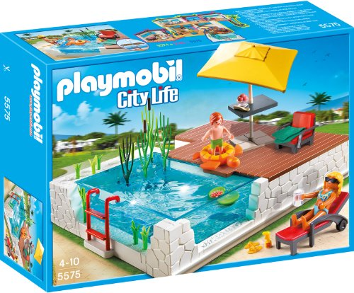 Playmobil 5575 - Einbau-Swimmingpool