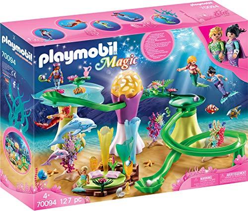 Playmobil Magic 70094 Korallenpavillon mit Leuchtkuppel, Ab 4 Jahren