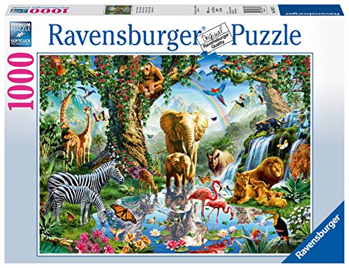 Ravensburger Puzzle 19837 - Abenteuer im Dschungel - 1000 Teile Puzzle für Erwachsene und Kinder ab 14 Jahren, Puzzle mit Tier-Motiv