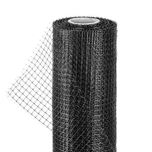 HaGa Maulwurfnetz - 2m Breite (Meterware) - Schutz Vor Maulwurfhügeln - Maulwurfsperre - Aus Kunststoff