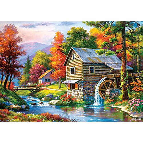 Castorland B-52691 Old Sutter's Mill, Puzzle 500 Teile, bunt
