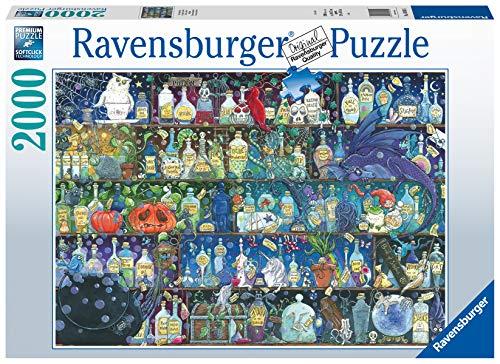 Ravensburger Puzzle 16010 - Der Giftschrank - 2000 Teile Puzzle für Erwachsene und Kinder ab 14 Jahren