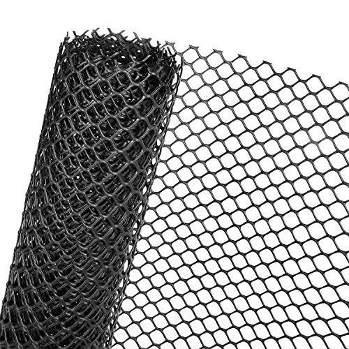 HaGa® Rasenschutzgitter 1,3m x 25m Bodenverstärkung Rasengitter befahrbar - verrottungsfest - extrem stabil - umfassender schutz